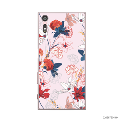 RED  LUXURY FLORAL - Sony Xperia XZ