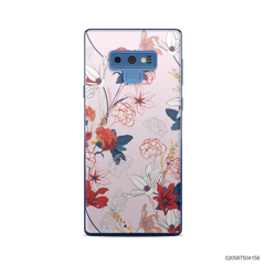 RED  LUXURY FLORAL - Samsung Galaxy Note 9