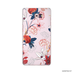 RED  LUXURY FLORAL - Samsung Galaxy C9 Pro