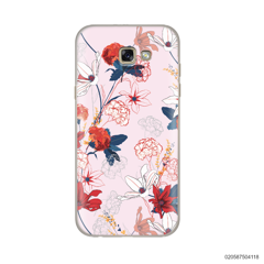 RED  LUXURY FLORAL - Samsung Galaxy A5 2017