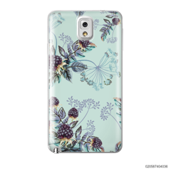 BLUE LUXURY FLORAL - Samsung Galaxy Note 3