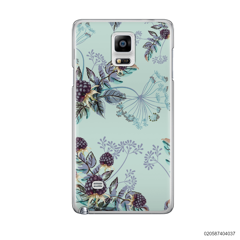 BLUE LUXURY FLORAL - Samsung Galaxy Note 4