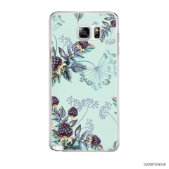 BLUE LUXURY FLORAL - Samsung Galaxy Note 5