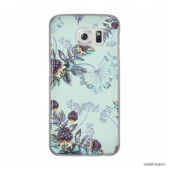 BLUE LUXURY FLORAL - Samsung Galaxy S6