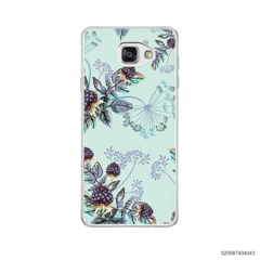 BLUE LUXURY FLORAL - Samsung Galaxy A5 2016