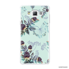 BLUE LUXURY FLORAL - Samsung Galaxy A7 2015