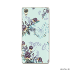 BLUE LUXURY FLORAL - Sony Xperia X