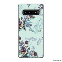 BLUE LUXURY FLORAL - Samsung Galaxy S10 Plus