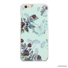 BLUE LUXURY FLORAL - iPhone 6/6s Plus