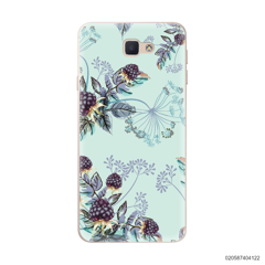 BLUE LUXURY FLORAL - Samsung Galaxy J5 Prime