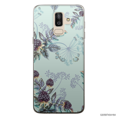BLUE LUXURY FLORAL - Samsung Galaxy J8 2018