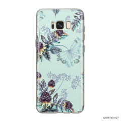 BLUE LUXURY FLORAL - Samsung Galaxy S8