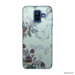 BLUE LUXURY FLORAL - Samsung Galaxy A6 2018