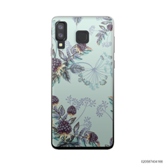 BLUE LUXURY FLORAL - Samsung Galaxy A8 Star