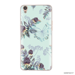 BLUE LUXURY FLORAL - Oppo F1 Plus