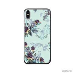 BLUE LUXURY FLORAL - iPhone X/ Xs