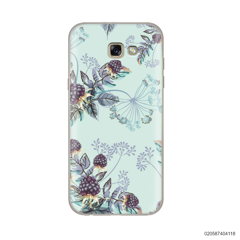 BLUE LUXURY FLORAL - Samsung Galaxy A5 2017