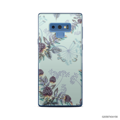 BLUE LUXURY FLORAL - Samsung Galaxy Note 9