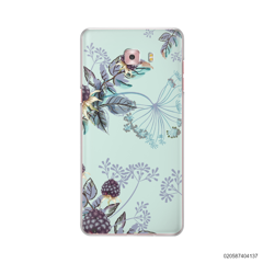 BLUE LUXURY FLORAL - Samsung Galaxy C9 Pro