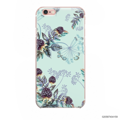 BLUE LUXURY FLORAL - iPhone 6/6s