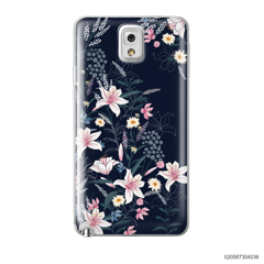 BLACK LUXURY FLORAL - Samsung Galaxy Note 3