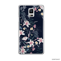 BLACK LUXURY FLORAL - Samsung Galaxy Note 4