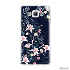 BLACK LUXURY FLORAL - Samsung Galaxy A7 2015