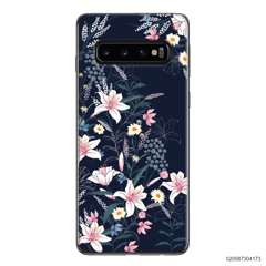 BLACK LUXURY FLORAL - Samsung Galaxy S10