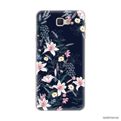 BLACK LUXURY FLORAL - Samsung Galaxy J5 Prime