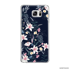 BLACK LUXURY FLORAL - Samsung Galaxy Note 5