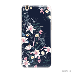 BLACK LUXURY FLORAL - OPPO F3 Plus