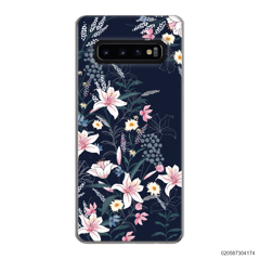 BLACK LUXURY FLORAL - Samsung Galaxy S10 Plus
