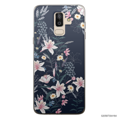 BLACK LUXURY FLORAL - Samsung Galaxy J8 2018