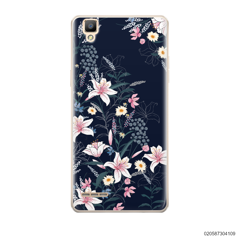 BLACK LUXURY FLORAL - Oppo F1