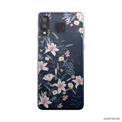 BLACK LUXURY FLORAL - Samsung Galaxy A8 Star