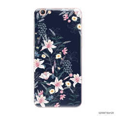 BLACK LUXURY FLORAL - Oppo F3