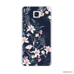 BLACK LUXURY FLORAL - Samsung Galaxy A9 Pro