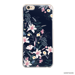 BLACK LUXURY FLORAL - iPhone 6/6s Plus