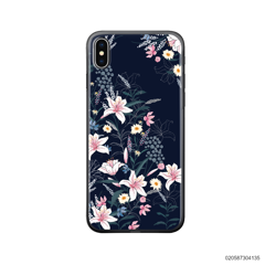 BLACK LUXURY FLORAL - iPhone X/ Xs