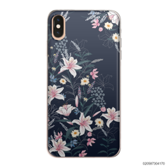 BLACK LUXURY FLORAL - iPhone XS Max