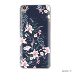 BLACK LUXURY FLORAL - Oppo F1 Plus
