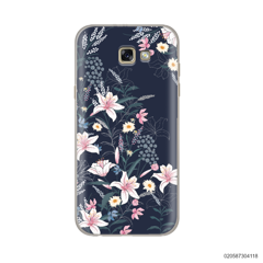 BLACK LUXURY FLORAL - Samsung Galaxy A5 2017