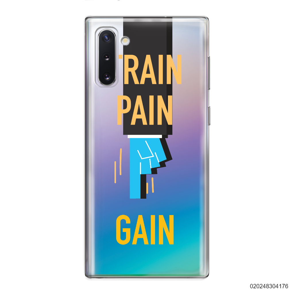 TRAIN PAIN GAIN - Samsung Galaxy Note 10