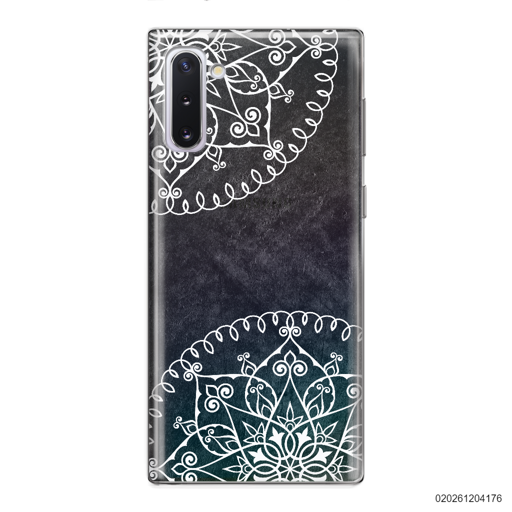MANDALA IN BLACK - Samsung Galaxy Note 10