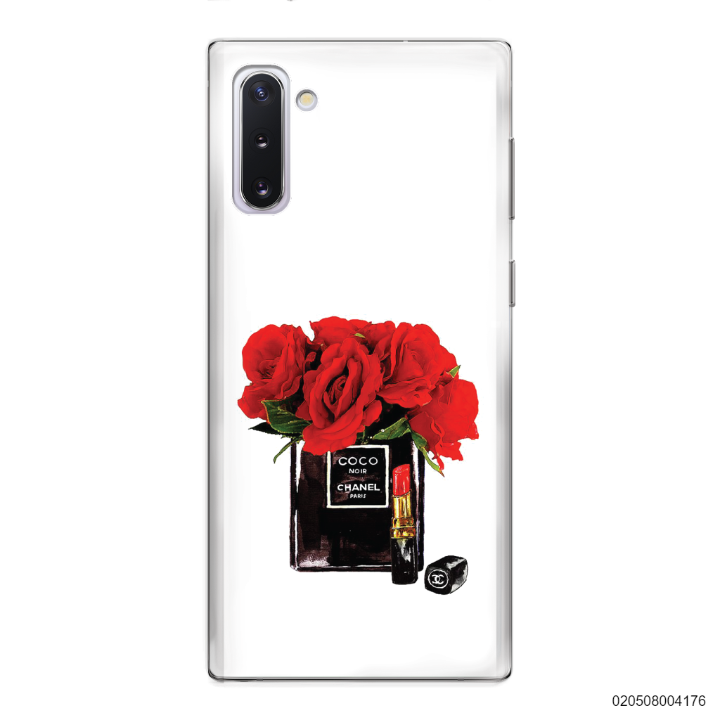 RED ROSE COCO CHANEL PERFUME - Samsung Galaxy Note 10