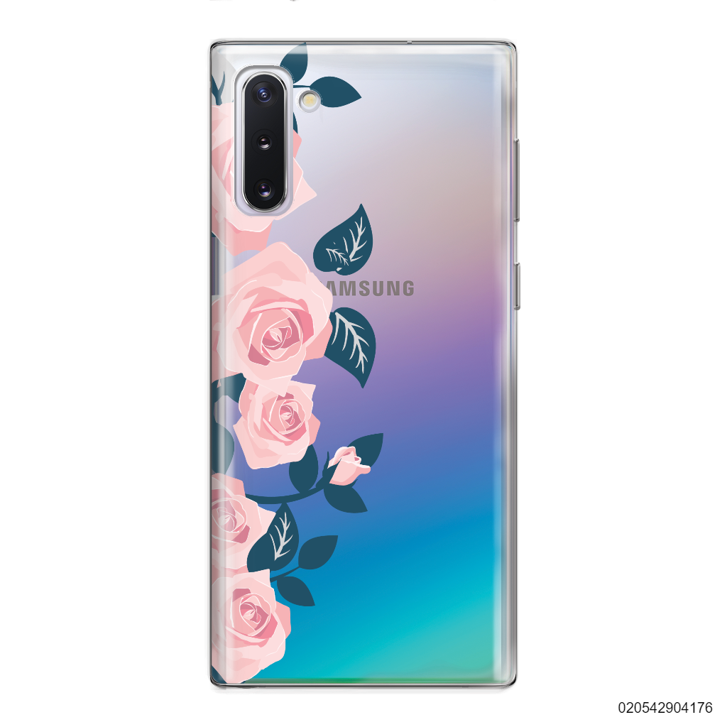 YOUR NAME WITH ROMANTIC ROSES - Samsung Galaxy Note 10