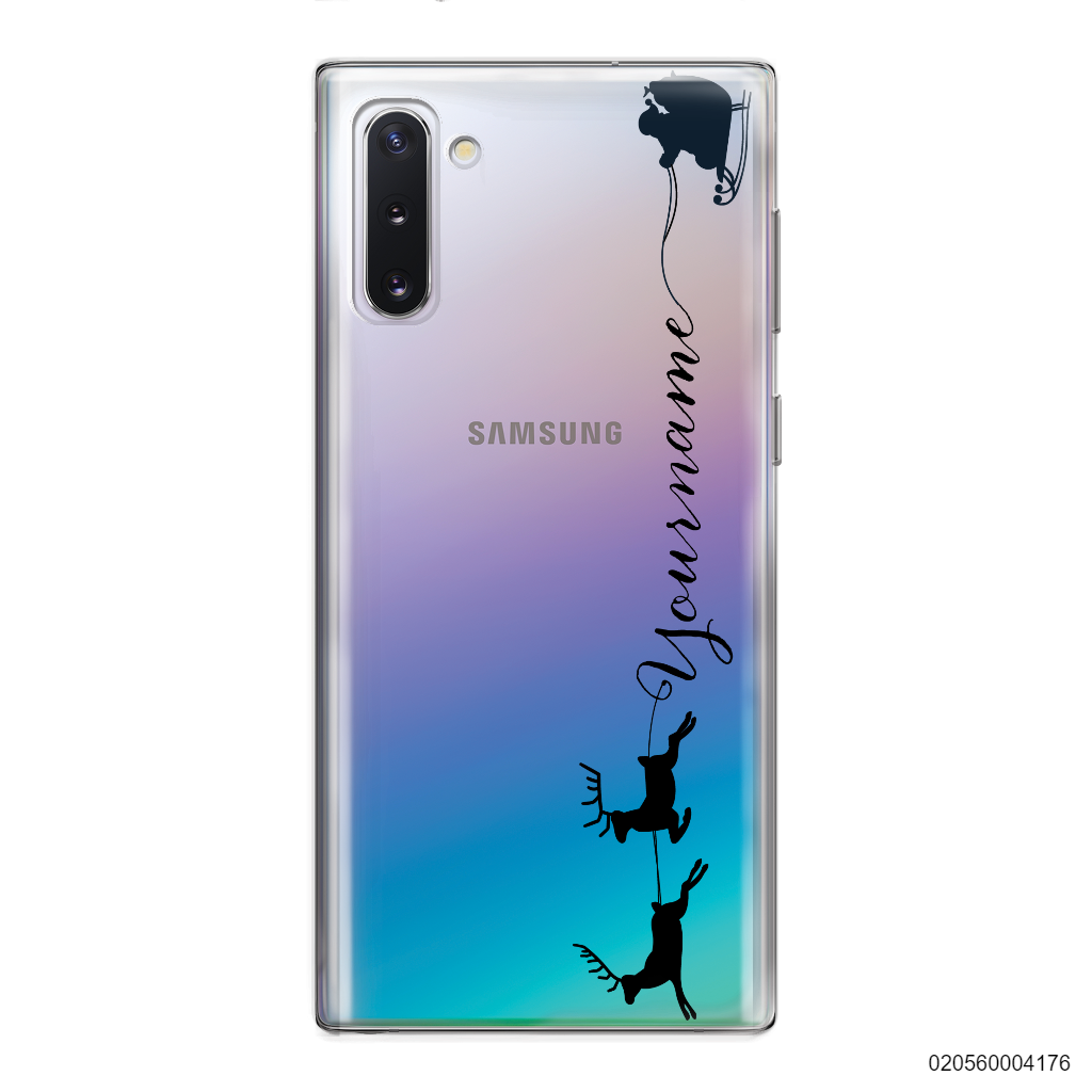 CUSTOM WITH SANTA AND REINDEER - Samsung Galaxy Note 10