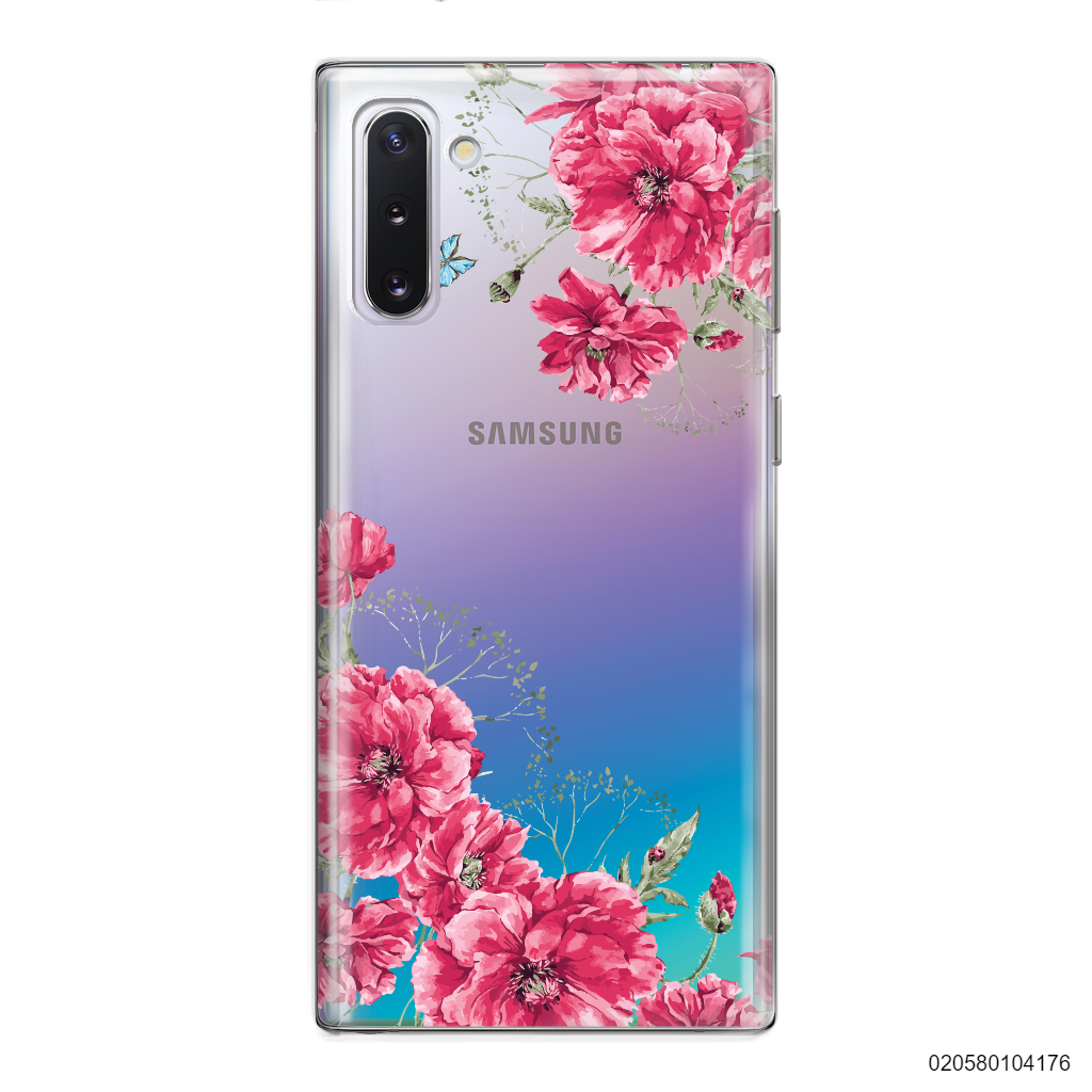 PINK FLORAL NAME - Samsung Galaxy Note 10
