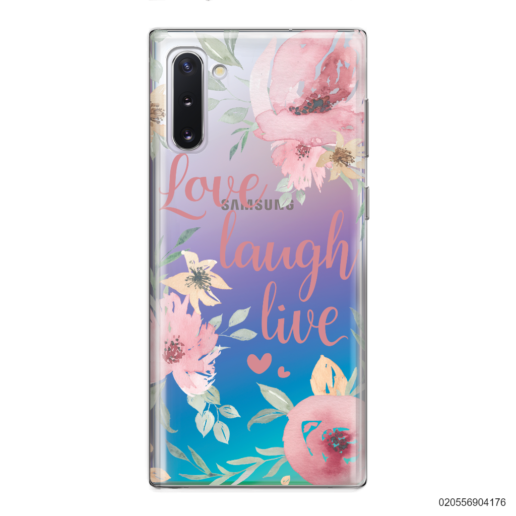 QUOTE LOVE LAUGH LIVE - Samsung Galaxy Note 10