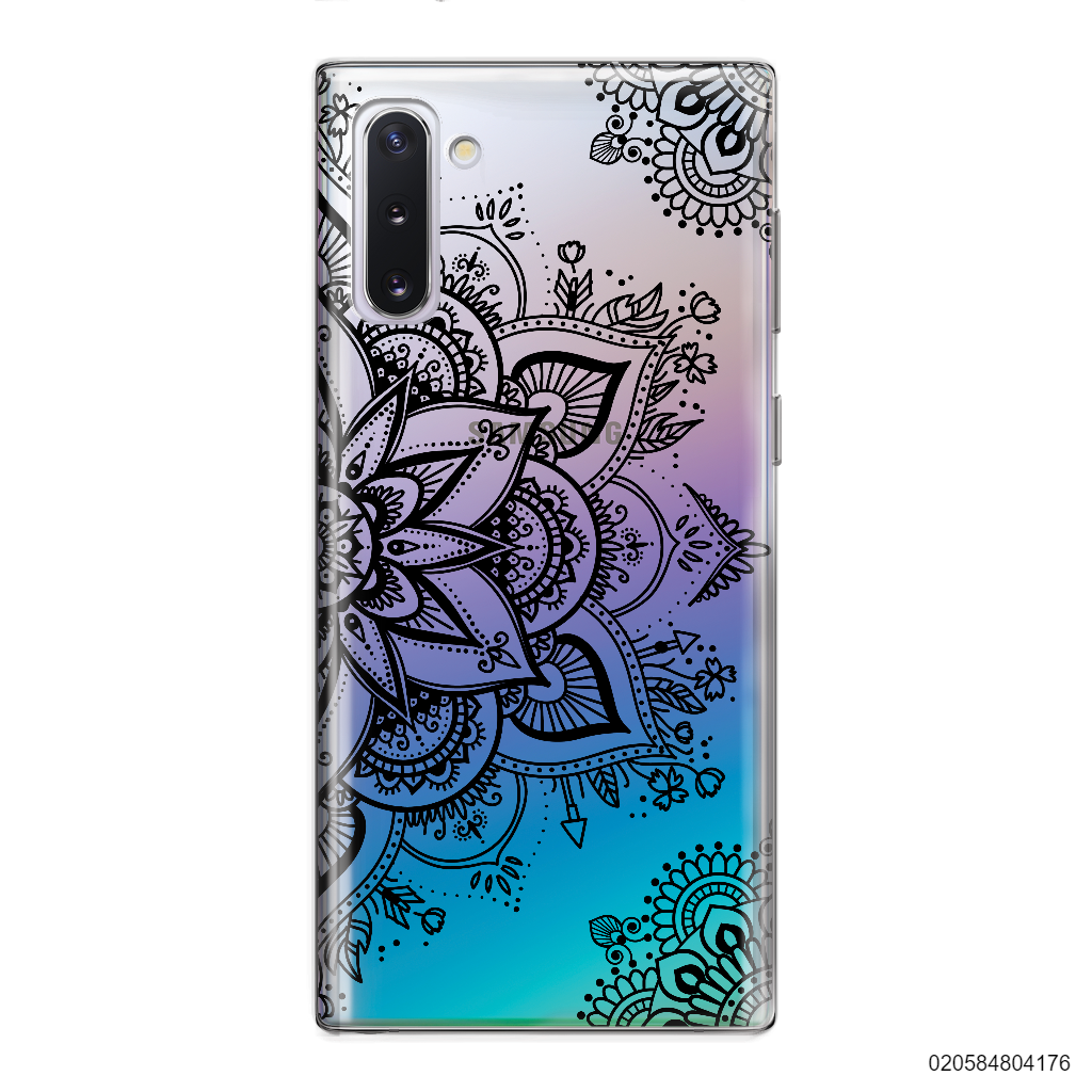 THE ART OF HENNA STYLE - BLACK - Samsung Galaxy Note 10
